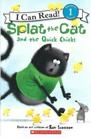 Splat the Cat QUICK CHICKS - NEW Scholastic Paperback I Can Read! Level 1 SALE