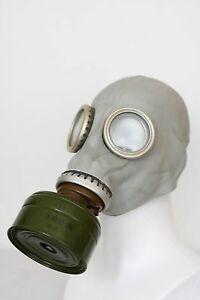 Gas Mask GP-5 grey with filter ONLY Soviet Russian NEW Vintage FUNY USSR