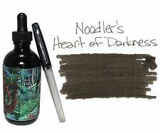 Noodler's Fountain Pen Ink - 4.5oz Bottle - 19808 - Heart of Darkness w/free pen