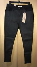 NWT Women Levis 535 Super Skinny Two Tone Black Gray Pants Sz 29 x 30 Stretch