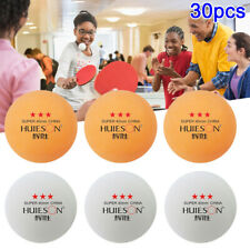 30x 3-Sterne-Tischtennisbälle Pingpong Amateur Professional Sport Training Ball