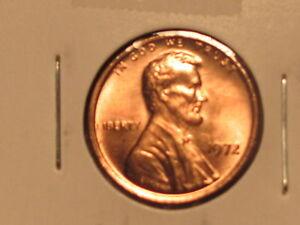 1972 P&D - Lincoln Memorial Cent Set