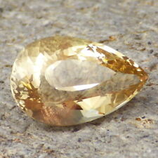 YELLOW-GOLD SCHILLER OREGON SUNSTONE 8.40Ct FLAWLESS-FOR TOP JEWELRY!