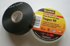 0,45€/m 3M Scotch Super 88 Isolierband 19mm x 20m Farbe schwarz