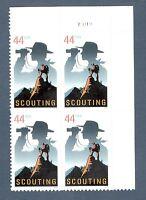 4472 Boy Scouts US Plate Block Mint/nh (Free Shipping)