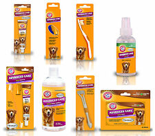 Arm & Hammer Dog Toothpaste Toothbrush Dental Oral Care Teeth Mints Rinse Puppy