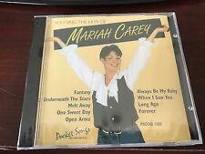 Pocket Songs Karaoke Pscdg 1205 Mariah Carey Cd+G Multiplex