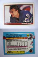 "1991-92 O-Pee-Chee #45 Olausson Fredrik ""CLAUSSON"" error RARE HOT jets"