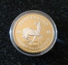 Afrique du Sud - Krugerrand 2018 Gilded Reverse Édition - 1 oz silver - ( 500ex)