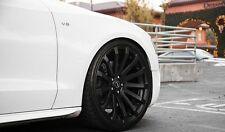19-inch Mercedes Wheels/Rims MR9 Matte Black 5x112 Lugs