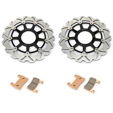 Front Brake Discs Rotors + Pads for Honda CBR 929 RR 00-01 CBR954RR 2002 2003
