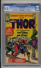 Journey into Mystery 105 CGC 9.2 NM- Thor Unrestored Marvel Avengers Human Cobra