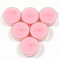 Wild Rose Handpoured Highly Scented Tea Lights Candles Tealights pack of 6