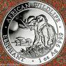2016 SOMALIA African Wildlife ELEPHANT 1oz .9999 Silver BU Coin IN FREE AIRTITE