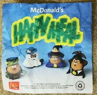 McDonalds Happy Meal Toy 1994 Halloween McNugget Buddies Plastic Toys - Various