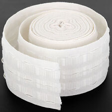 10 METERS 0F CURTAIN HEADING HEADER TAPE~PENCIL PLEAT~75mm (3 Inch) WIDE ~