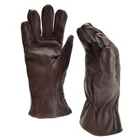 Genuine US army combat gloves leather brown military flayers Shell HAU air force