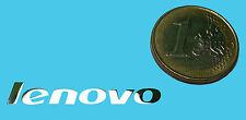 LENOVO METALISSED CHROME EFFECT STICKER LOGO AUFKLEBER 38x6mm [226]
