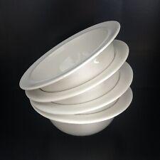 1993 ALESSI (x 4) La Bella Tavola Ettore Sottsass Cereal Soup Bowls Vintage Set