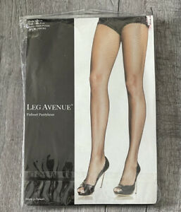 Leg Avenue Fishnet Pantyhose Style 9001A One Size Neon Purple 90-165 lbs