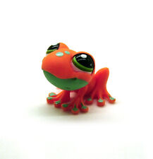 Littlest Pet Shop LPS Collector's Pack Orange Spotted Frog # 1570 Child Girl Toy