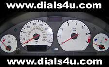 BMW 3 SERIES E36 COMPACT / BMW Z3 (1994-2002) - 140mph / 160mph - WHITE DIAL KIT