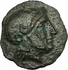 MESEMBRIA Thrace 350BC Authentic  Ancient Greek Coin AHTENA Cult Wheel i39712