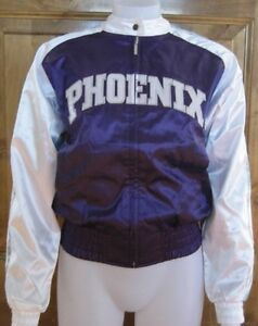 REEBOK PHOENIX SUNS CHEER JACKET M SATIN JUNIORS LADIES MEDIUM