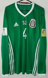 Mexico Confederations Cup 2017 Marquez adizero Player Issue LS Soccer Jersey