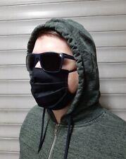 Maseczka Maska do twarzy Bawełna Streetwear ochronna Czarna uliczna MASK ON
