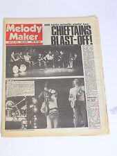 Vintage MELODY MAKER Rock & Roll Newspaper 1975 CHEIFTAINS BLAST OFF