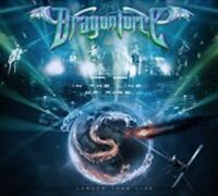 DRAGONFORCE In The Line Of Fire... Larger Than Live CD/DVD NEW Digipak NTSC R0