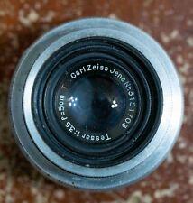 Carl Zeiss Jena Tessar 5cm F3.5 T Exakta mount