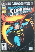 Superman - The Man of Steel - Issue # 1 - 1992 Annual - DC Comics - NM/VF (122)