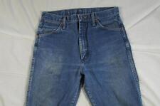 Wrangler 13MWZ Faded Denim Jeans Tag Size 32x36 Measure 30x34.5 Cowboy