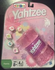 NEW Pink Yahtzee - Toys R Us Exclusive with Fuzzy Dice Cover RARE 2009