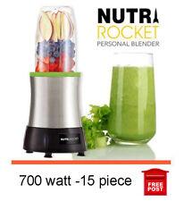 NEW 700W NutriRocket juicer personal blender extractor 15 piece free post