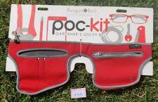 Burgon & Ball Poc-Kit Gardeners Utility Tool Belt - Red