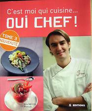 Livre C'est moi qui cuisine oui chef hachette /N11