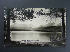 Little Red Fish Lake Idaho ID Real Photo Postcard RPPC
