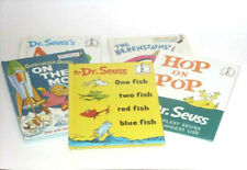5 Vintage Childrens Beginner Books Dr Seuss Berenstains Bright And Early Books