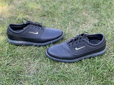 New listing Nike Air Zoom Victory Tour Black Leather Men's Golf Shoes UK9 / US10 - Used Once