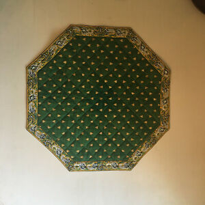 VALDRÔME JOLI NAPPERON matelassé provençal OCTOGONAL Made in France 41 x 41 cm