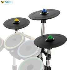 Rock Band 4 Pro-Cymbals Expansion Drum Kit Genuine Top Quality By Mad Catz
