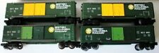 4 O Lionel British Columbia Railway Double Door Boxcars Rd. #9425