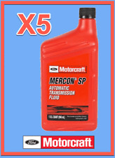5 Quarts OEM FORD Automatic Transmission Fluid ATF MOTORCRAFT XT6QSP MERCON SP
