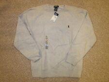 NWT Ralph Lauren Gray Crew Neck  Sweatshirt size Medium(10-12)
