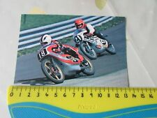 Angel NIETO Werner SCHMIED 1976 Motor Cycle Road Racing Postcard by Vanderhout