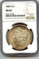 1880-S Morgan Silver Dollar NGC MS 66