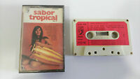 Sabor Tropical Vol. 2 Cinta Tape Cassette 1973 Spanish Edition Rare